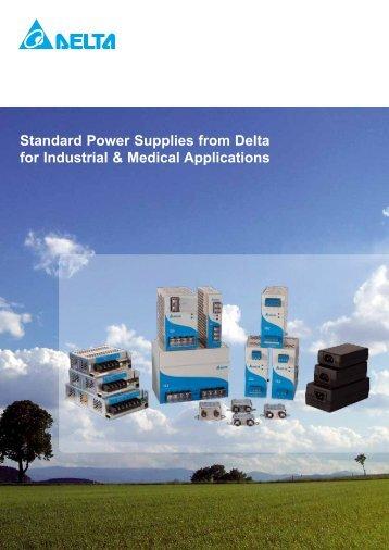 Delta Medical Adapter Power Supply - ServoTech A/S