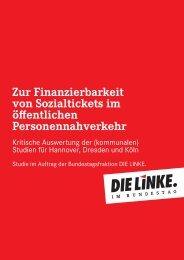 zur Finanzierbarkeit von Sozialtickets im Öffentlichen ...