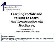 NEW secondary curriculum - Rachel Hawkes
