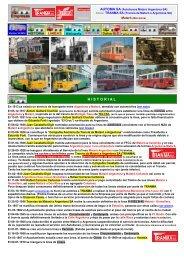 H I S T O R I A L - Empresas Autobuses Líneas