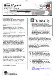 Thumbs Up - Moonbi Public School