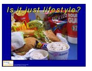Is it just lifestyle?