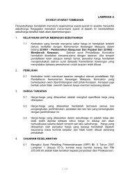 Fail Spesifikasi - Sistem Tender Dokumen dan Sebutharga - Selangor