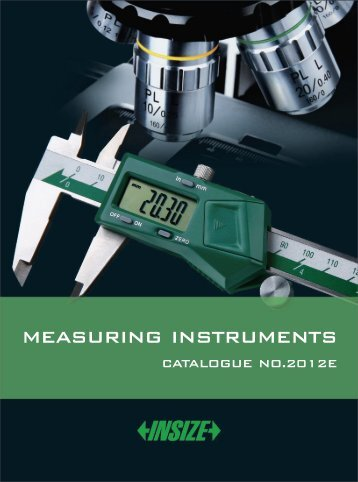 MEASURING INSTRUMENT CATALOGUE 2012E - Interempresas
