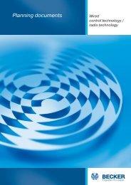 Radio technology - Becker-Antriebe