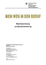 Materialsammlung - Referat für Arbeit und Wirtschaft