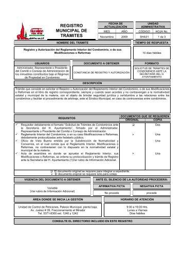 Reglamento interno de copropietarios condominio parque for Registro ministerio del interior