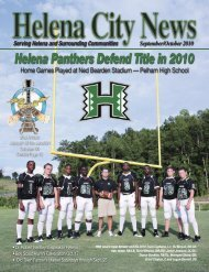 Helena Panthers Defend Title in 2010 - City of Helena, Alabama