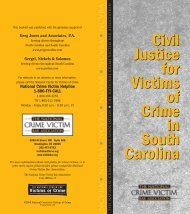 South Carolina - National Center for Victims of Crime