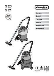 S 20 S 21 - Cleanfix AG