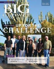 BIG GROWER, GPN Magazine - September 2011 - Altman Plants