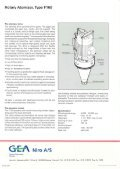 Brochure GEA Niro Rotary Atomizer Type F160 - Page 2