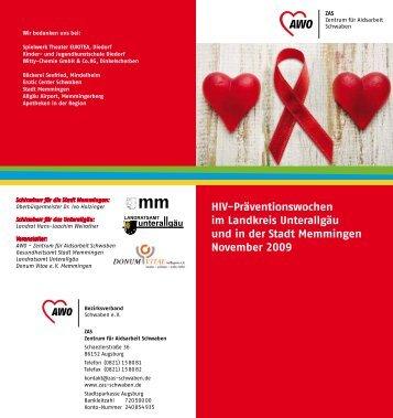 HIV-Präventionswochen im Landkreis Unterallgäu und in der Stadt ...