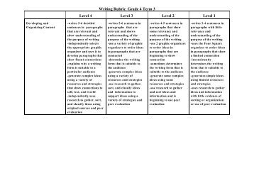 compare contrast character essay rubric Home document results for 'examples of fifth grade compare and contrast essays' examples of fifth grade compare and contrast essays comparison and contrast rubric.
