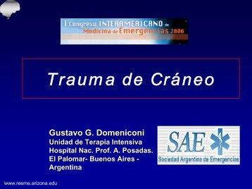 Trauma de cráneo - Reeme.arizona.edu