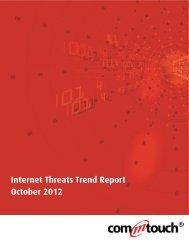 Internet Threats Trend Report - October 2012 - Ipswitch IMail Server