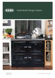Great British Range Cookers - ESSE