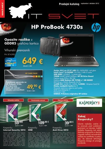 Katalog računalniške opreme (PDF) - ADVANT
