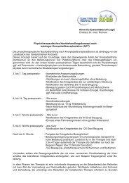Klinik für Extremitätenchirurgie Chefarzt Dr. med. Ruhnau ...