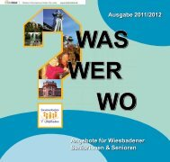 Ausgabe 2011/2012 - Landeshauptstadt Wiesbaden