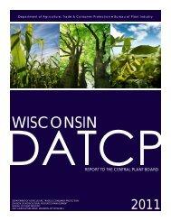 2011 CBP Report - Pest Survey