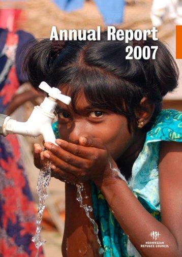 Annual Report - Flyktninghjelpen