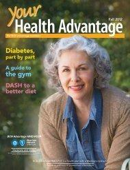 Your Health Advantage magazine - Fall 2012 - Blue Care Network