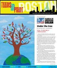 Under the tree - Teens in Print