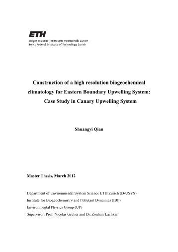 Physics thesis