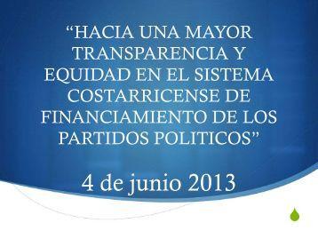 Hacia una mayor transparencia y equidad en el sistema ...