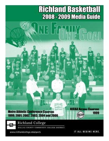 Richland Basketball - Richland College