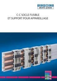 Coupe circuit / socle fusible - Sermes