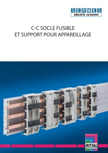 Coupe circuit / socle fusible - Sermes