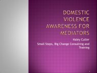 Domestic Violence Awareness for Healthcare Professionals