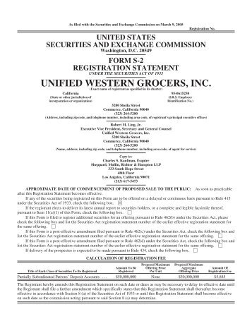 62331ACLS2Depositsfinalclean30905 - Unified Grocers