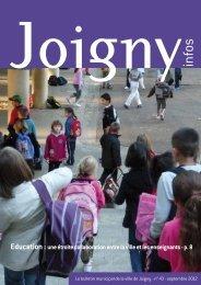 N° 43 - septembre 2012 - Joigny