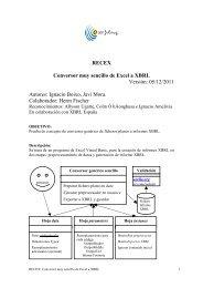 Manual de usuario - XBRL España