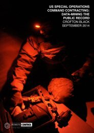 CroftonBlack_USSOCOM Contracting Report_NE