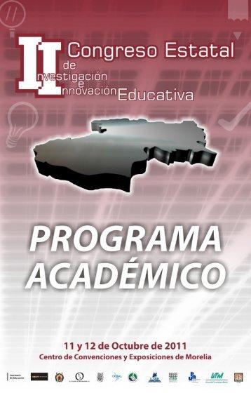 programa .pdf - Coordinación de la Investigación Científica