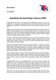 Sometimes the best things in life are FREE! - Childcare Expo