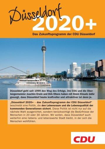 Das Zukunftsprogramm der CDU Düsseldorf