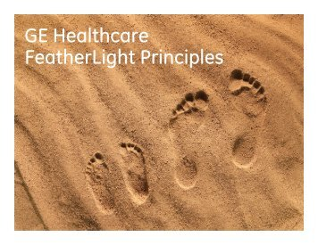 GE Healthcare FeatherLight Principles
