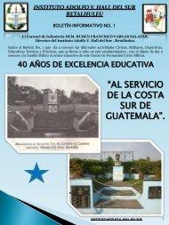 Boletín Hall del Sur 2-2013. - Ministerio de la Defensa de Guatemala