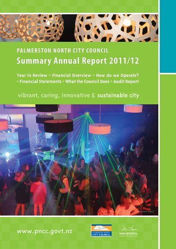 Summary Annual Report 2011/12 - Palmerston North City Council