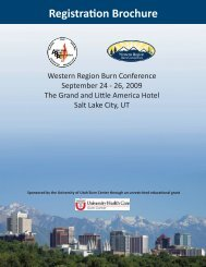 Registration Brochure - American Burn Association
