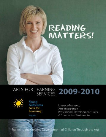 Download our Arts for Learning Services Catalog - Young ...