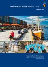 2012 åRSBERETNING FOR BERGEN REISELIVSLAG - visitBergen
