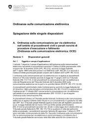Ordinanze sulla comunicazione elettronica: Spiegazione ... - admin.ch