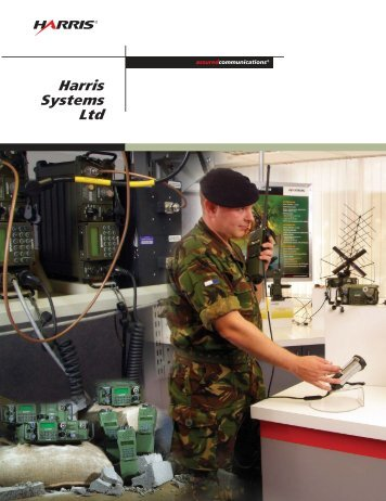 Harris Systems Ltd. Supporting customers in Europe, Central Asia ...