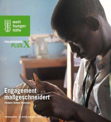können Sie die Broschüre zum Thema ... - Welthungerhilfe